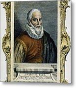 Ambroise Pare (1517?-1590) Metal Print by Granger