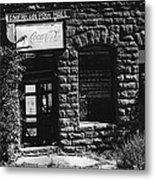 American Pool Hall Facade Version 1 Ghost Town Jerome Arizona 1968 Metal Print