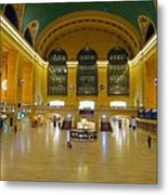2 A.m.grand Central Station  Metal Print