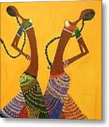 An Indian Dance Form Metal Print