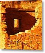 Anasazi Ruins Metal Print