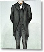 Andrew Carnegie (1835-1919) Metal Print