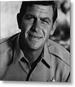 Andy Griffith Metal Print
