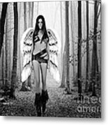 Angel In The Forest Metal Print