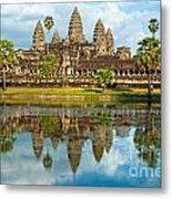 Angkor Wat - Cambodia Metal Print