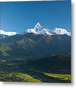 Annapurna Peak - Nepal Metal Print
