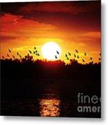Another Sunset Metal Print