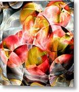 Apple Bowl Metal Print