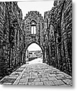 Arbroath Abbey Metal Print