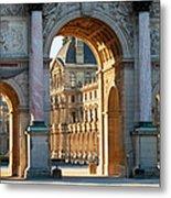 Arc De Triomphe Du Carrousel Metal Print