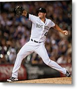 Arizona Diamondbacks V Colorado Rockies Metal Print