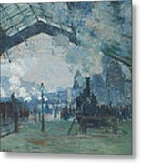 Arrival Of The Normandy Train Metal Print