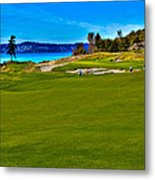 #2 At Chambers Bay Golf Course - Location Of The 2015 U.s. Open Championship Metal Print by David Patterson