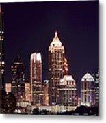 Atlanta From Above Metal Print