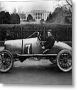 Automobiles Racing Metal Print