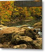 Autumn At Bulls Bridge Metal Print