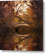 Autumn's End Metal Print