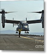 Aviation Boatswains Mate Signals An Metal Print