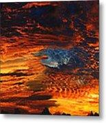 Awe Inspiring Sunset Metal Print