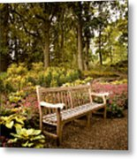 Azalea Garden Metal Print