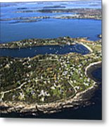 Bailey And Orrs Islands, Harpswell Metal Print