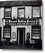 Bakewell  Pudding Factory In The Peak District - England Metal Print