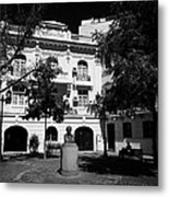 barrio paris londres Santiago Chile Metal Print