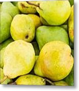 Bartlett Pears Metal Print