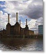 Battersea Power Station London Metal Print