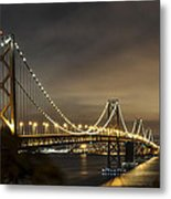 Bay Bridge From Treasure Island Metal Print