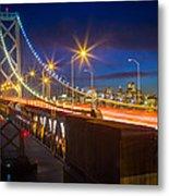 Bay Bridge Metal Print by Inge Johnsson