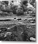 Beach 14 Metal Print