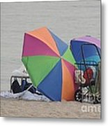 Beach It Metal Print by Laurence Oliver