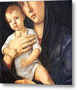 Bellini's Madonna And Child Metal Print