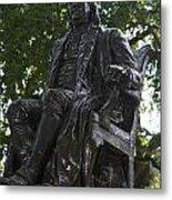 Benjamin Franklin Statue University Of Pennsylvania Metal Print