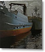 Bering Sea Metal Print