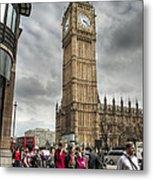 Big Ben London Metal Print by Donald Davis