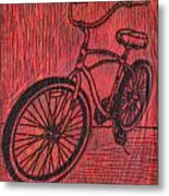 Bike 6 Metal Print by William Cauthern