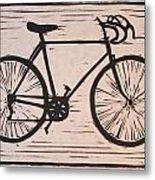 Bike 8 Metal Print