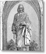 Blaise Pascal  French Philosopher Metal Print