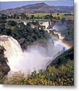 Blue Nile Falls Metal Print