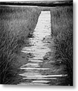 Boardwalk Through The Dunes Metal Print