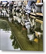 Boating Metal Print