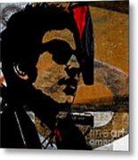 Bob Dylan Recording Session Metal Print