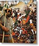 Border Terrier Art Canvas Print  Metal Print