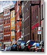 Boston Street Metal Print by Elena Elisseeva