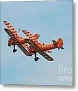 Breitling Wingwalkers Team Metal Print
