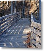 Bridge To The Forest Metal Print