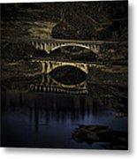 2 Bridges At Dusk Metal Print