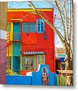 Bright Colors In Buenos Aires Metal Print
